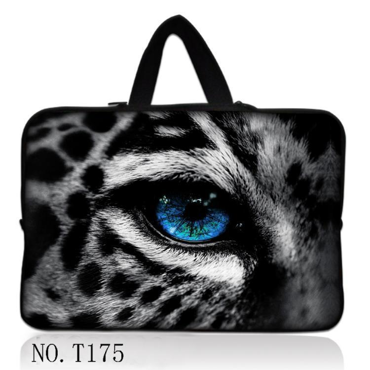 Snow Leopard Notebook bag 17.3 17 15.6 15 14 13.3 13 11.6 12 10.6 Laptop Bag Sleeve Pouch Case women men handbag computer sleeve