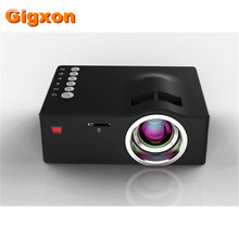 Gigxon – G18 Mini LCD 320*180 Support 1080P video portable projectors with HDMI TF Card USB CVBS LED for Home theater Cinema