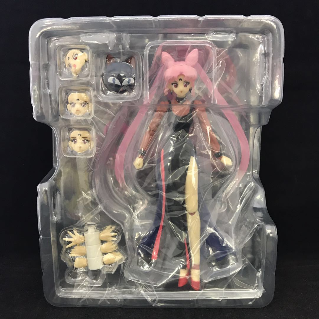 Sailor Chibi Moon Dark Princess Action Toy Figures Pvc Model Collection For Girls Lover Children Best Christmas/birthday Gift 3