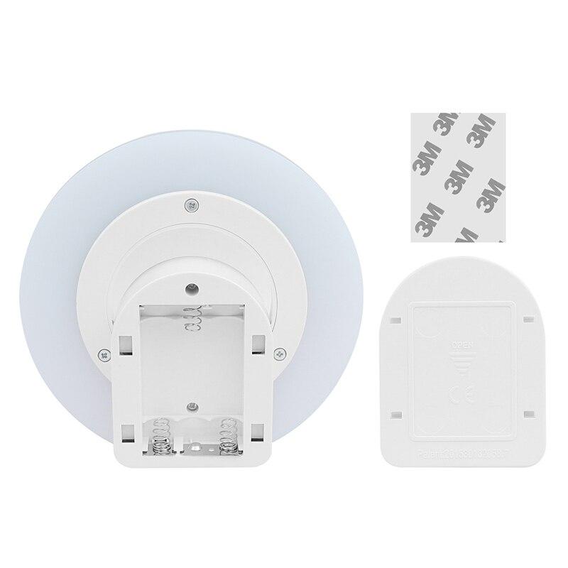 lemonbest 360 graden draadloze wandlamp ir bewegingssensor led nachtlampje batterij operated verlichting voor onder keukenkasten in lemonbest 360 graden