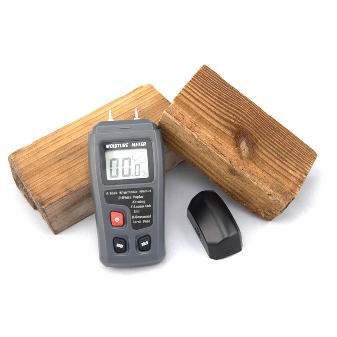 Werkzeuge Analysatoren 0-99.9% Digital Holz Feuchtigkeit Meter Holz Feuchtigkeit Tester Baum Damp Detector Feuchtigkeit Tester