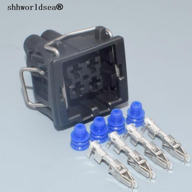 Shhworld 3,5 мм 4-контактный водонепроницаемый штекер кондиционера для VW Passat B5 A4 A6 S4 S8 444524-1
