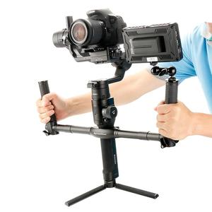 Image 4 - AgimbalGear Dual Handheld Gimbal Camera stabilizerfor Dji Ronin S SC Extended Handle Grips Handbar Mount Camera Accessories