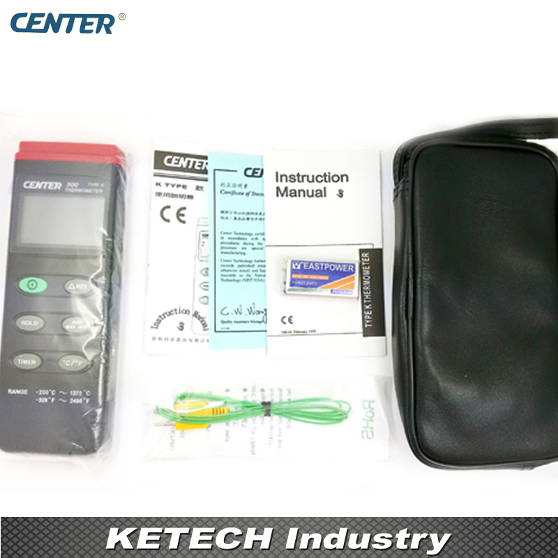 CENTER300 Digital Thermometer K-type with Auto Power Off Functions акустика центрального канала mt power elegance center black