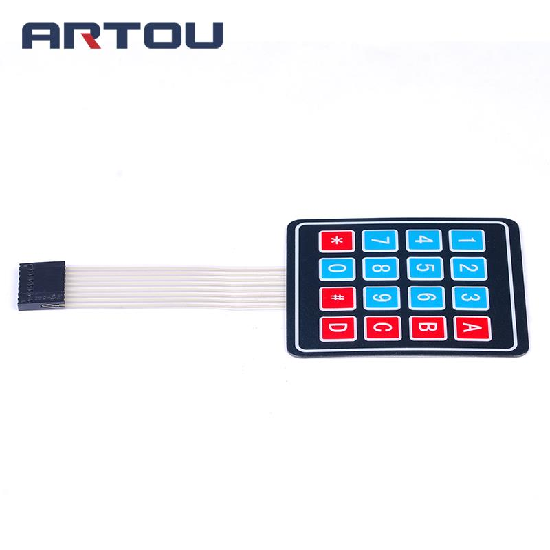 5PCS 4*4 Matrix Array/Matrix Keyboard 16 Key Membrane Switch Keypad