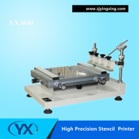 Surface Mount Electronics YX3040 Desktop Automatic Silk Screen Printer Customized