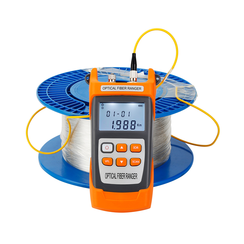 Handheld OTDR 60KM Fiber Find Fault Tester 1310nm Or 1550nm Fiber Breakpoint Fault Detector With VFL FC/SC Connector