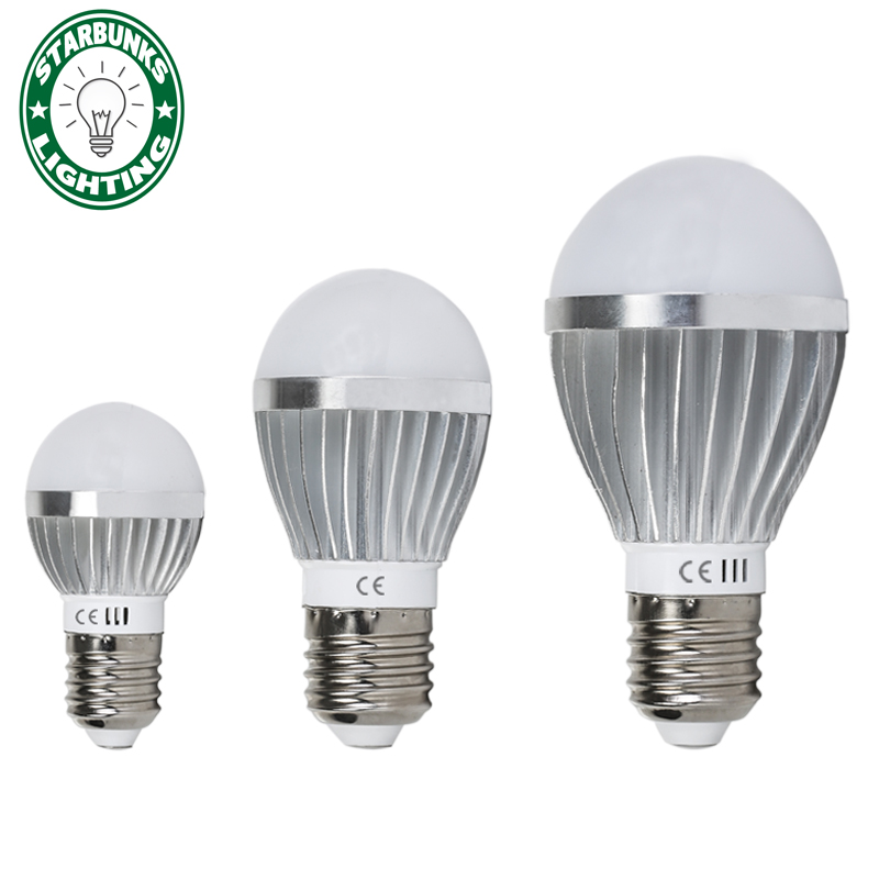 led bulb LED e27 E27 220v for decor 5W 7W 9W 12W 220V 240V Cold White/Warm White Lampada Ampoule Bombilla LED 5pcs e27 led bulb 2w 4w 6w vintage cold white warm white edison lamp g45 led filament decorative bulb ac 220v 240v