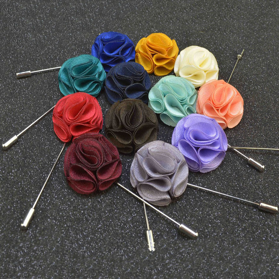 Mdiger brand mixed 13 pcslot mens flower brooch fabric stick lapel mdiger brand mixed 13 pcslot mens flower brooch fabric stick lapel pin brooches suits dress wedding bridegroom jewelry pins in brooches from jewelry izmirmasajfo Gallery