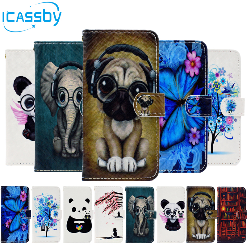 sFor Coque Samsung Galaxy <font><b>J2</b></font> Pro 2018 Case Cute Panda Leather Flip Wallet Phone Cases For Samsung <font><b>J2</b></font> Pro 2018 Cover Etui <font><b>Capinha</b></font> image