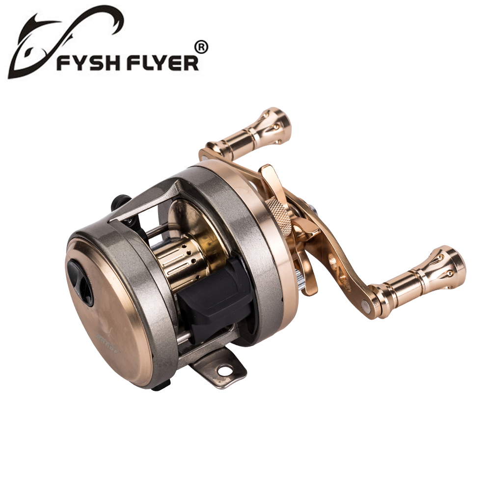 Baitcasting Fishing Reels, Carbon Fiber Drag, Metal Spool and Bearings, 9+1BB, Stainless Steel Shaft, High Speed Ratio 7.0:1