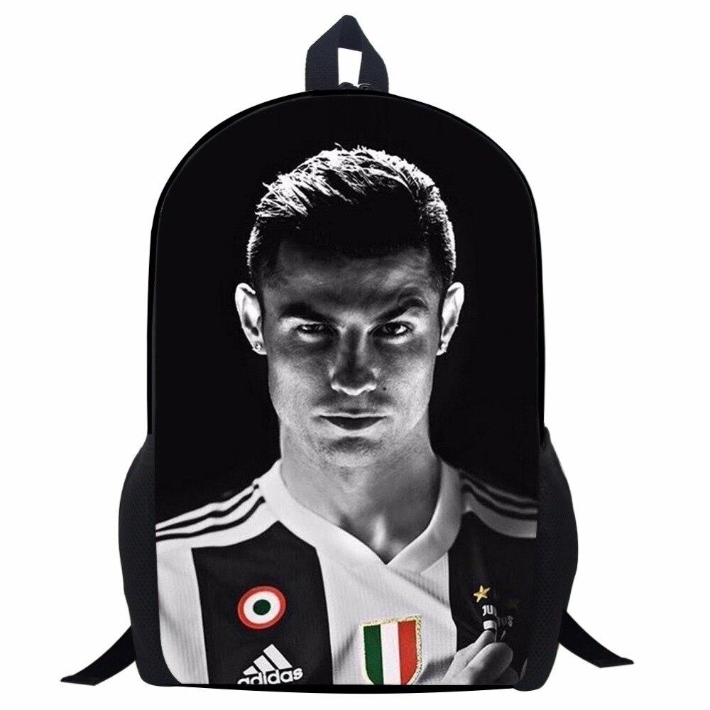 CR7 JUNIOR RUCKSACK Cristiano Ronaldo Backpack Juventus Forza Soccer Football