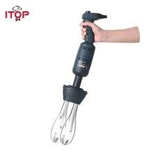ITOP Commercial Hand held Immersion Blender Juicers Adjustable/Fixed Speed Blender Food Mixers Meat Food Processors 110V/220V цены онлайн