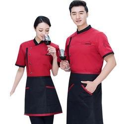 Короткий рукав сращены шеф повар пособия по кулинарии спецодежды Высокое качество Новинка 2019 года Ресторан общественного питания кофе