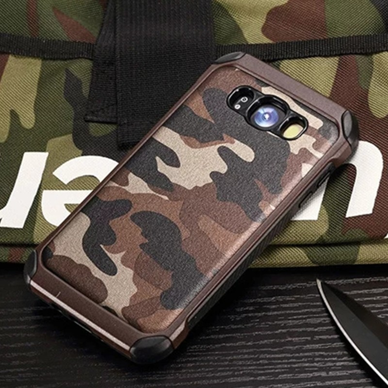 Army Camo Camouflage Pattern Phone Case For Samsung Galaxy J3 J4 J6 J8 2018 J3 J5 J7 PRO 2017 J2 J5 J7 Prime Plastic Armor Cover