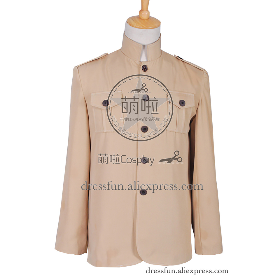 The Beatles at Shea Stadium Cosplay Costume Yellow Jacket Uniform Coat Outfits Suit Halloween Fashion Party Fast Shipping