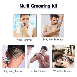 Image 2 - All in 1 professional hair trimmer waterproof hair clipper beard trimmer man electric hair cutting machine set for Facial,body