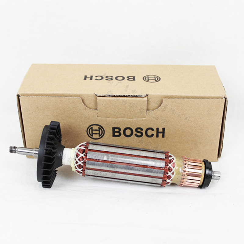 GWS7-100/T/125/T/ET Angle Grinder Accessories Rotor Motor Polisher Armature ac 220v 230v armature rotor replacement for bosch gws7 gws 7 100 gws 7 125 angle grinder spare parts