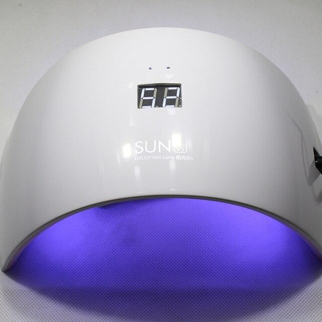 Nail LED Secador de Uñas Lámpara de SOL 9C/9 S Lámpara Secador de ...