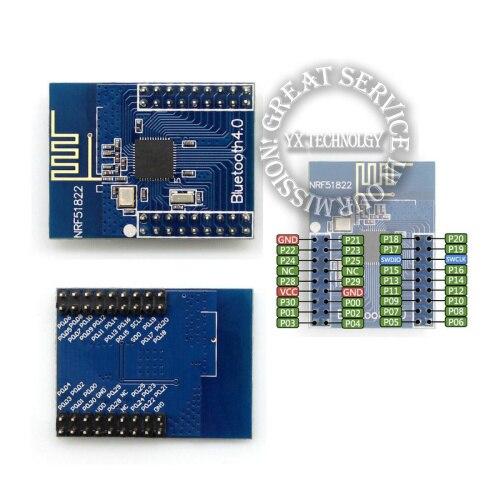 2.4G low power onboard BLE 4.0 NRF51822 module, BLE iBeacon module