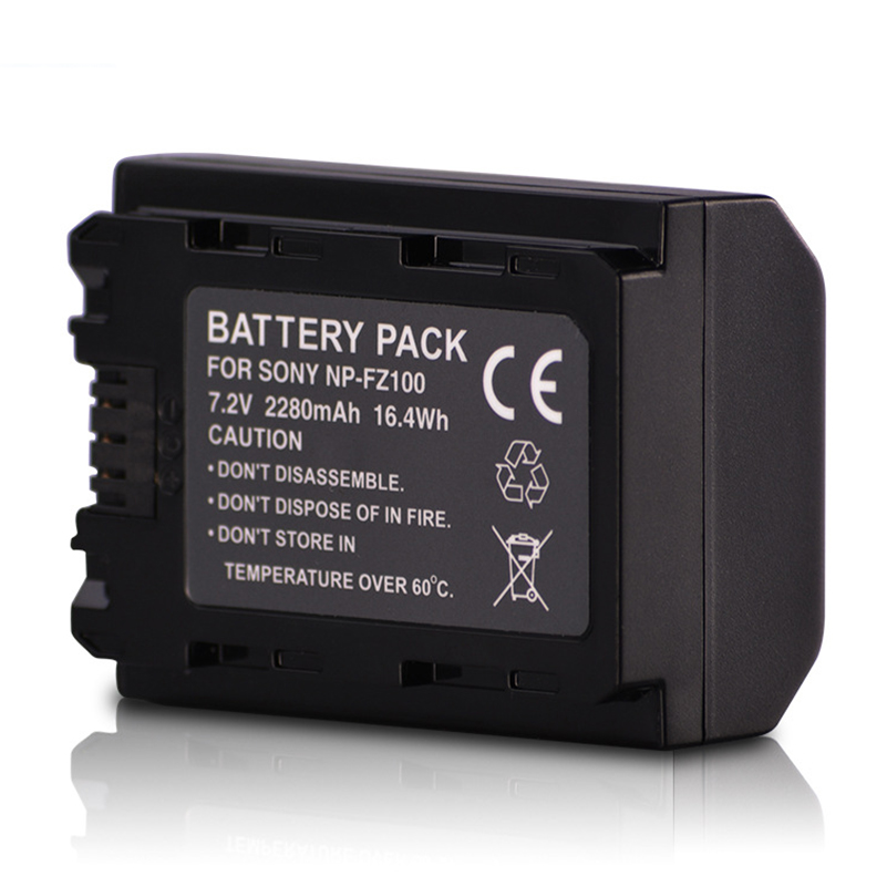 2280mAh NP-FZ100 NPFZ100 NP FZ100 Li-ion Battery For Sony A9 A7RIII ILCE-9 A7R3 ILCE-7RM3 A7RM3 ILCE-7M3K A7M3K Camera Battery
