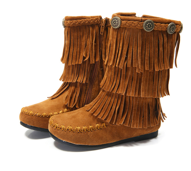 Popular Girls Tassel Boots-Buy Cheap Girls Tassel Boots lots from ...