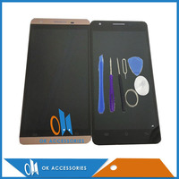 High Quality For Cubot X15 LCD Display Touch Screen Digitizer Gold Black Colour With Tools Tape