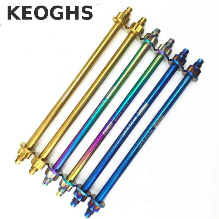 Keoghs Motorcycle Wheel Rim Axle 12mm*28mm Color 304 Stainless Steel Both Side Hub For Honda Yamaha Kawasaki Suzuki Scooter stainless steel axle sleeve china shen zhen city cnc machine manufacture