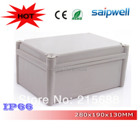 High quality Waterproof Electronic Plastic Case ip66 280*190*130mm DS AG 2819