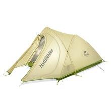 NatureHike New arrival Namiot Kempingowy 2 Osób Wodoodporny Double Layer Trwałym Sprzęcie Piknik Na Zewnątrz Camping Namioty Zielony Szary