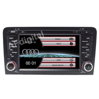 2 Din Car DVD Player for Audi A3 S3 2003 2004 2005 2011 Stereo Headunit with Built in GPS Sat Navi Free Map+SD Card USB Can Bus