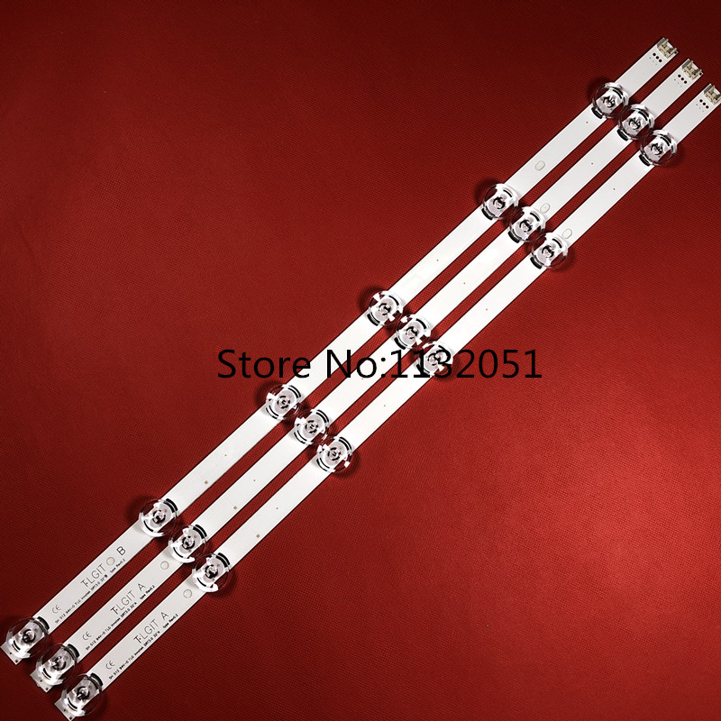 100%New 3 PCS(2*A 1*B) LED Backlight Strip For LGIT A B LG Innotek DRT 3.0 32