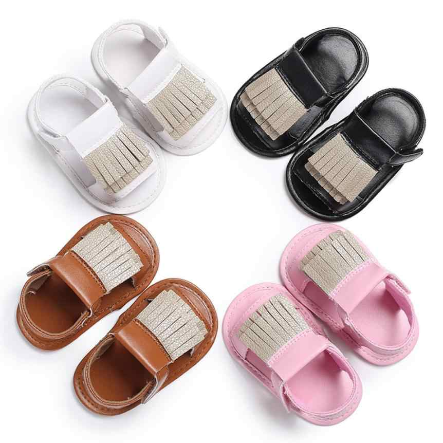 52f5b71899ae9e baby GIRLS sandals summer Sandals Infant Kids Girl Boy Crib Toddler Shoes  girl sandals summer leather