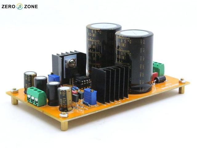 2015 NEW ZERO-ZONE Upgraded POWER-02 Adjustable linear Power supply kit for preamp DIY L1510-2