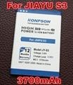 Konpson 3700 мАч Высокой емкости JY S3/JY-S3 аккумулятор для JIAYU S3 батареи бесплатной доставкой + Отслеживая Номером