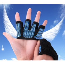AIBOULLY 4-Finger Gym Gloves Half Finger Palm Protection Fitness Weight Lifting Cycling Sport Glove
