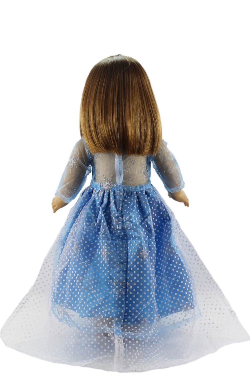 2 Set Anna/'s+Elsa/'s Dress Clothes for 18/'/' American Girl Doll Princess Costumes