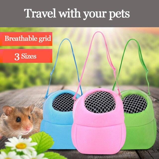 US $3 34 30% OFF|Hamster Outer Pack Dragon Cat Squirrel King Golden Flower  hedgehog Honey Bag Flying Squirrel Outside Sleeping Bag Cotton Nests on
