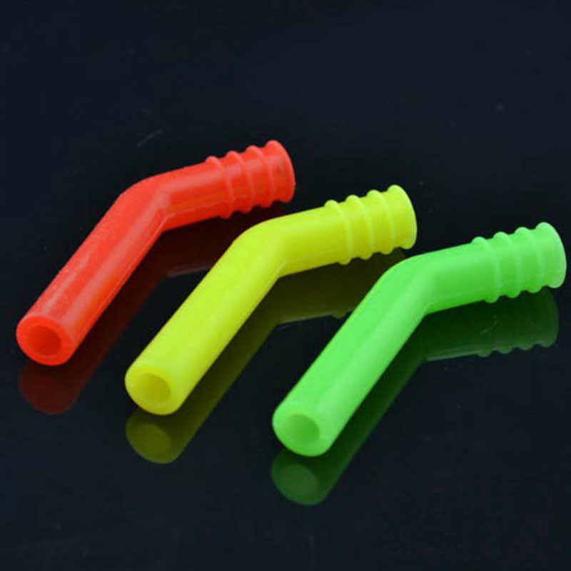 Mini Pocket Silicone Tube Exhaust Extension For HSP RC 1/8 Scale Nitro Model Car Buggy Boys Toy Accessories Spare Parts Colored