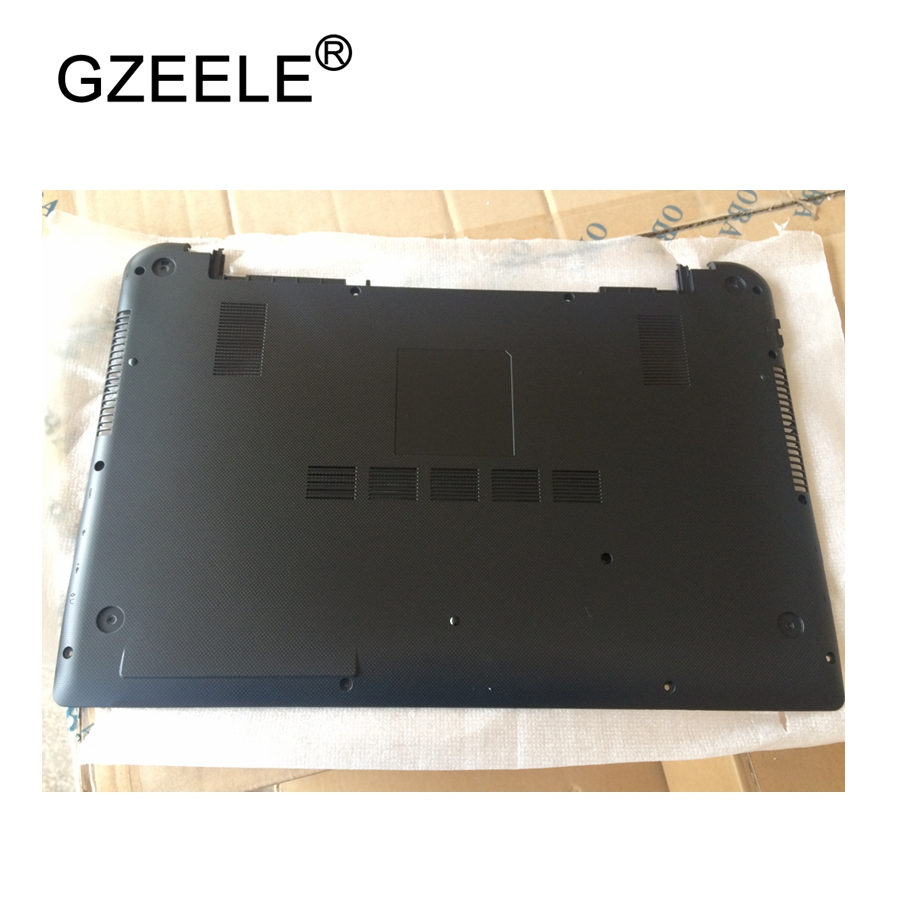 GZEELE New laptop Bottom Base Cover for TOSHIBA for Satellite S55T S55T-B lower case D shell BASE COVER EABLN00201A EABLN002A1S gzeele new laptop bottom base case cover for toshiba for portege r930 r935 base chassis d case shell lower case black