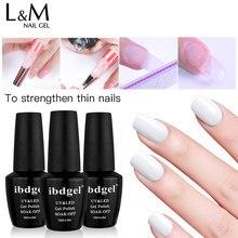 1pc ibdgel Polygel New arrival Multi-functional Builder gel nail in bottle extending Nail fast extension polish