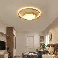 الاكريليك الأبيض الحديثة LED الثريا لغرفة النوم غرفة المعيشة LED Lustres كبير مصباح لإنارة السقف AC85 260V-في أضواء السقف من مصابيح وإضاءات على