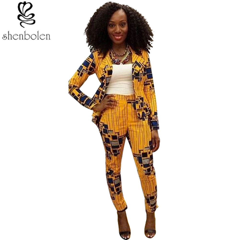 African clothing 2016 summer women's fashion suit jacket ...