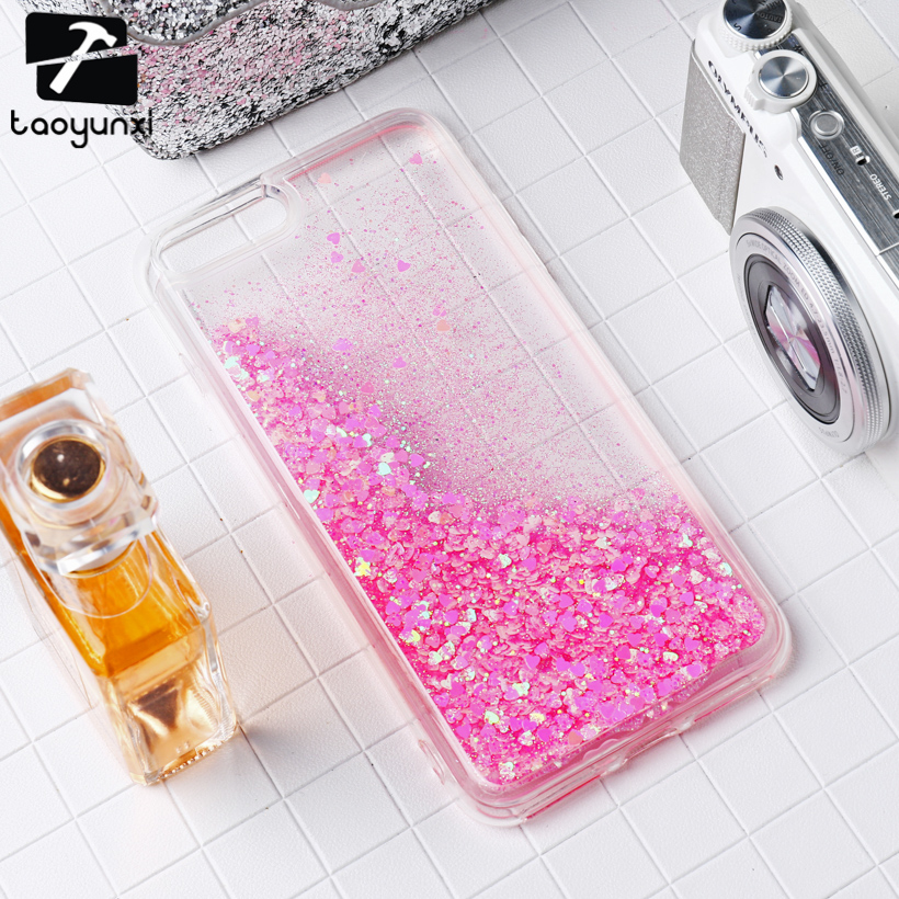 TAOYUNXI Glitter Stars Cases Cover For Apple iPhone6S Plus iPhone6 Plus Case Soft TPU Bag Phone Cover Hood For iPhone 66S Plus