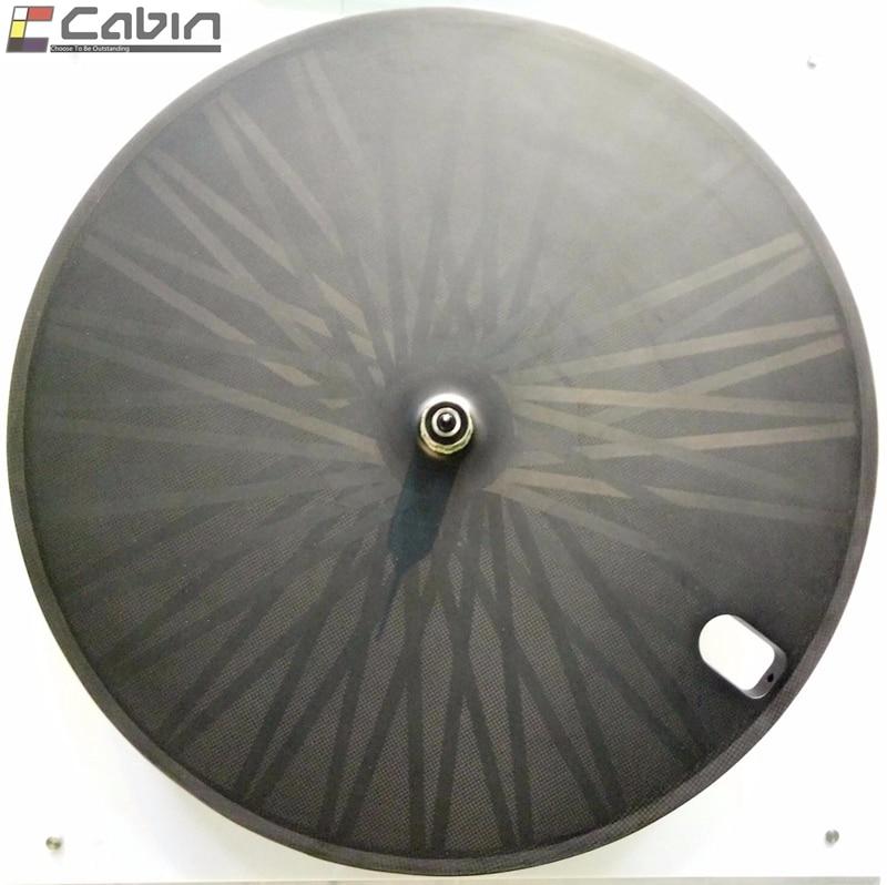 Full carbon disc wheel clincher tubular disc wheels for Track bike Triathlon bike Time Trial bike