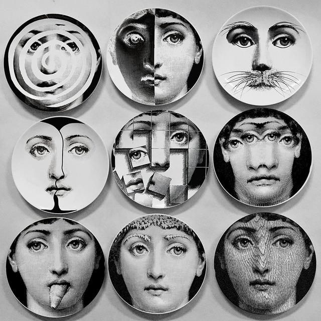 Wholesale Fahion Style Milan 2016 Fornasetti Plates Decorative ...