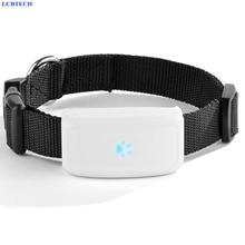 GPS трекер для домашних животных, GPS локатор водонепроницаемый для отслеживания котов и собак в реальном времени, трекер с бесплатным приложением и сигналом оповещения