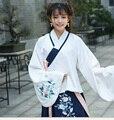 2016 зима взрослых костюм древняя китайская костюм семь фея ткань dress цветы тан шифон завесу dress