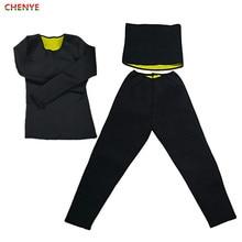 New Thermo Neoprene Waist Trainer Shirt Ultra Sweat Body Shaper Slimming Pants font b Weight b