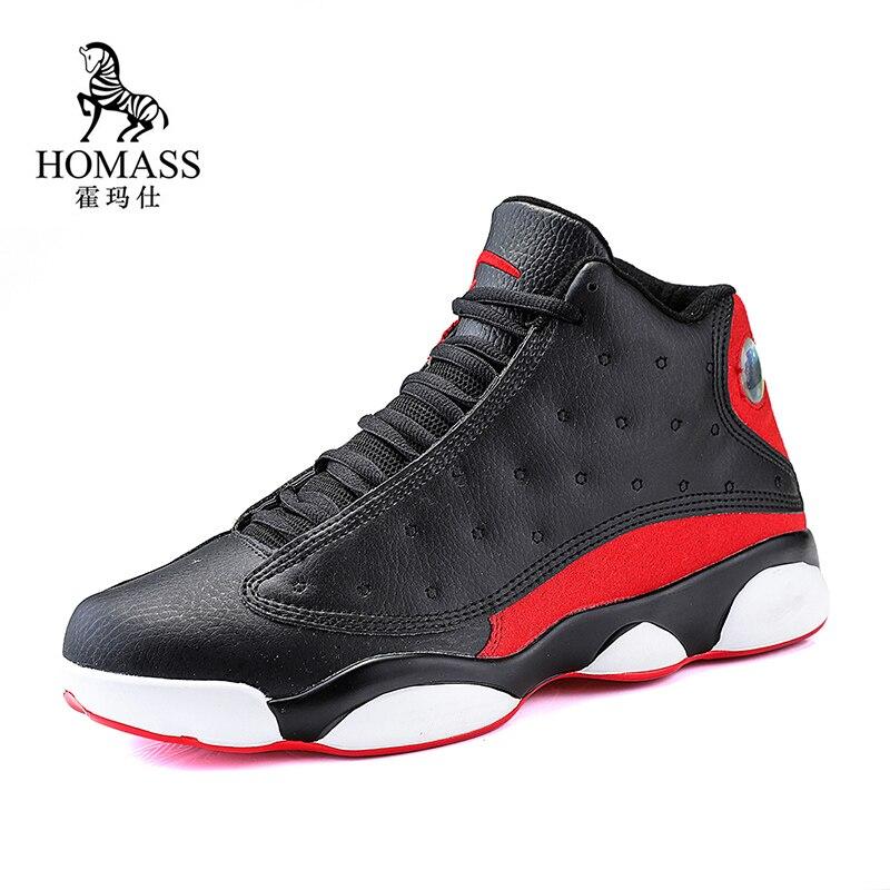 Basketball pour hommes Chaussures Haut Haut Jordan Basket Baskets Hommes Zapatillas De Baloncesto Anti-dérapage De Basket-Ball Homme Bottes Chaussures